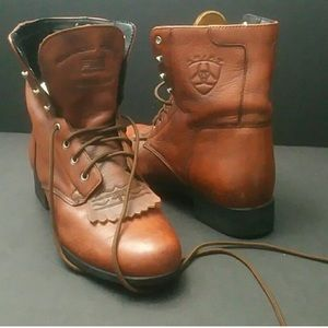 ARIAT WOMEN BOOT laceup sz 7.5 great condition!